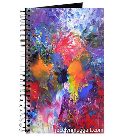 Blue, Red, purple, orange, black...Journal