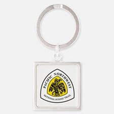 Pacific Northwest National Trail Square Keychain