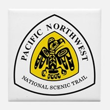 Pacific Northwest National Trail Tile Coaster
