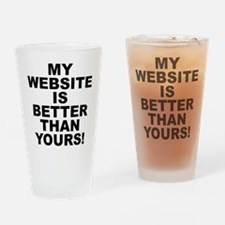M.w.i.b.t.y. Drinking Glass