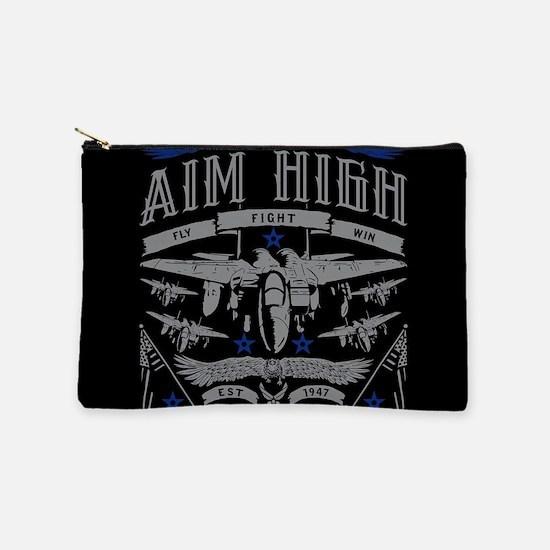 Aim High Fly Fight Win Makeup Bag
