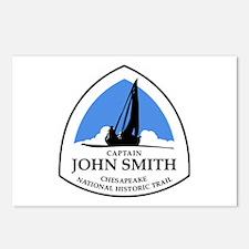 Captain John Smith Chesap Postcards (Package of 8)