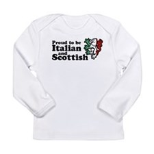 Cute Scottish Long Sleeve Infant T-Shirt