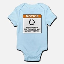 Cute Engineer Infant Bodysuit