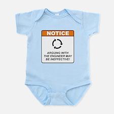 Cool Engineer Infant Bodysuit