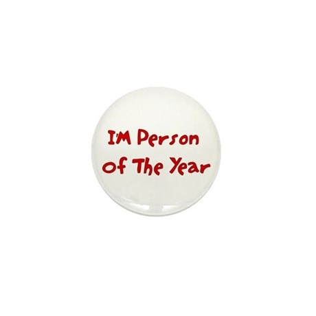 Person Of The Year Mini Button