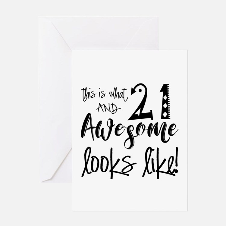 21st Birthday Quotes: Funny 21st Birthday Greeting Cards
