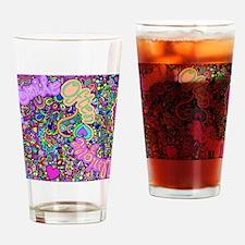 Groovy Graffiti Drinking Glass