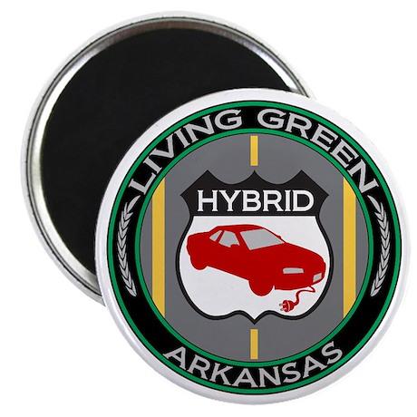 """Living Green Hybrid Arkansas 2.25"""" Magnet (100 pac"""