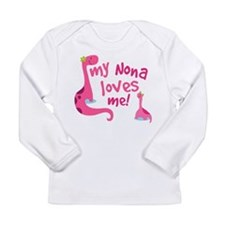 Cute Nona Long Sleeve Infant T-Shirt
