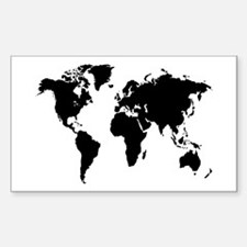 The World Rectangle Decal