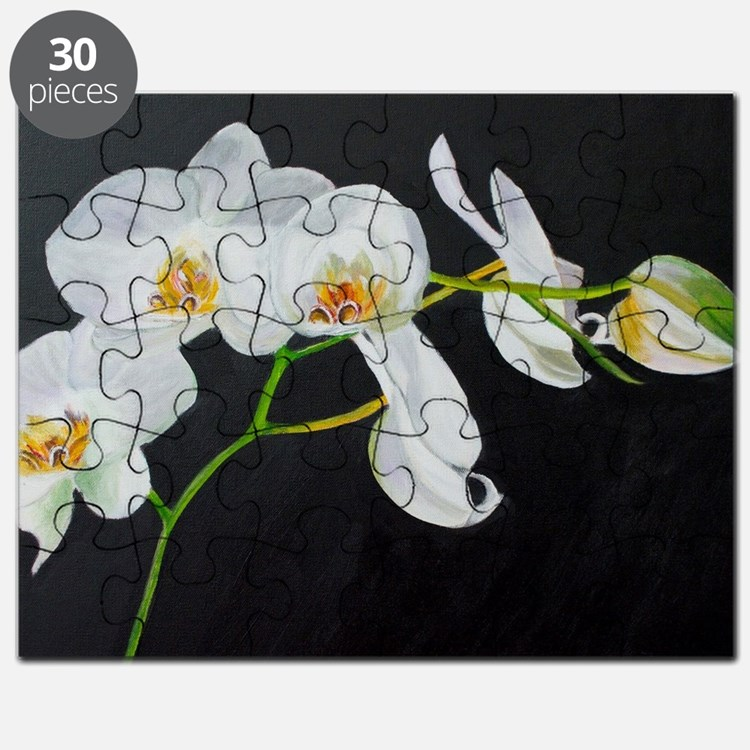 Cute Orchid white Puzzle