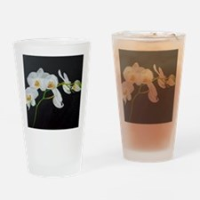 Unique Orchids Drinking Glass