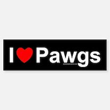Pawgs Bumper Bumper Sticker