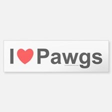 Pawgs Bumper Bumper Sticker