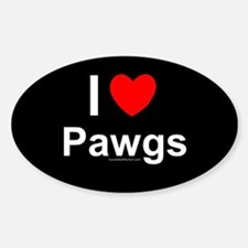 Pawgs Decal