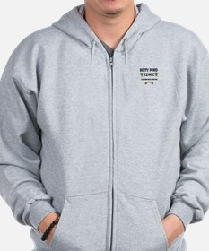 Betty Ford Clinic Florida Zip Hoodie
