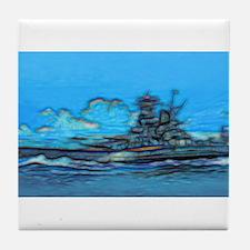 Battleship Tile Coaster