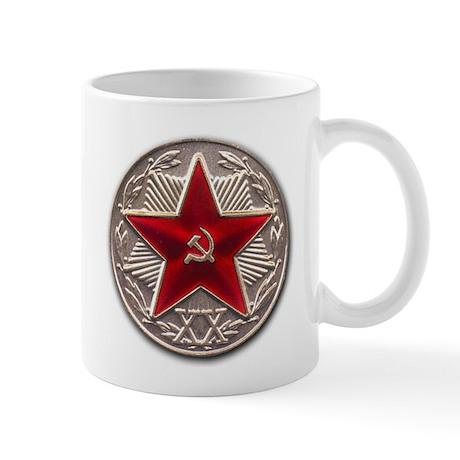 Soviet Red Star Mug
