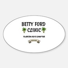 Betty Ford Clinic Florida Decal