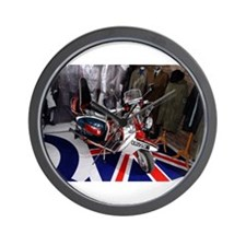 JIMMY'S SCOOTER. MOD Wall Clock