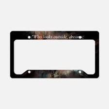 Cute Hope License Plate Holder
