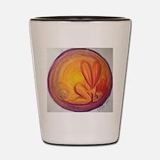 Autumn Fairy Mandala Shot Glass