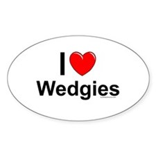Wedgies Decal