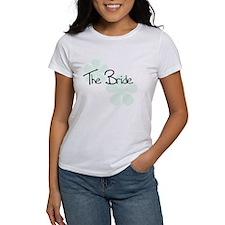 The Bride Green Flowers Tee
