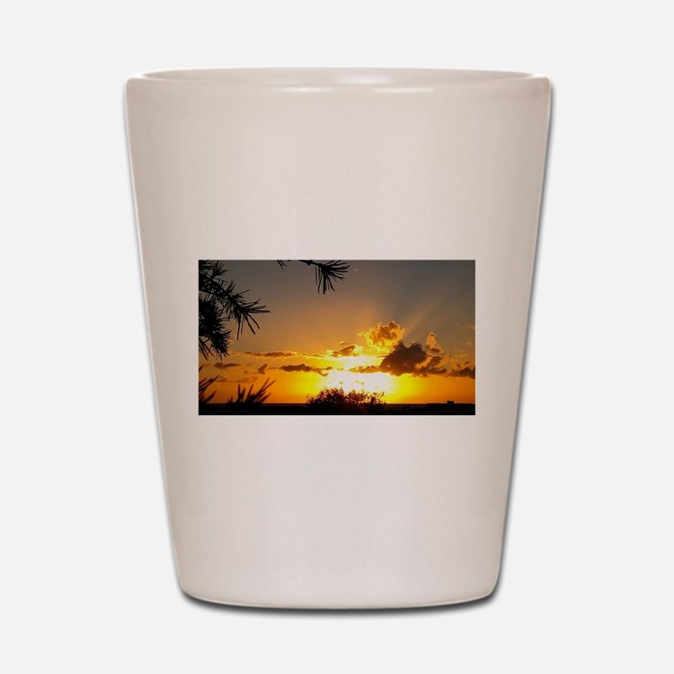 Sunset To Inspire Shot Glass
