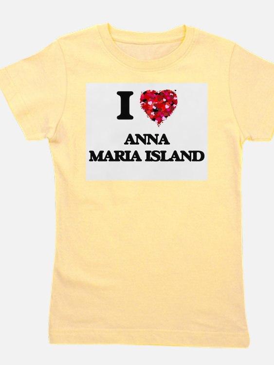 I love Anna Maria Island Florida Girl's Tee