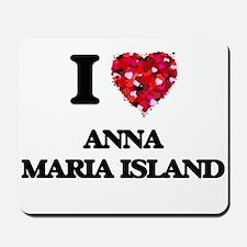 I love Anna Maria Island Florida Mousepad