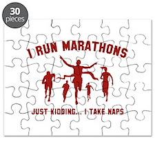 I Run Marathons Puzzle