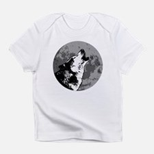 Wolf and moon Infant T-Shirt