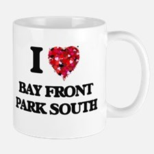 I love Bay Front Park South Florida Mugs