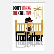 Cute Godfather Postcards (Package of 8)