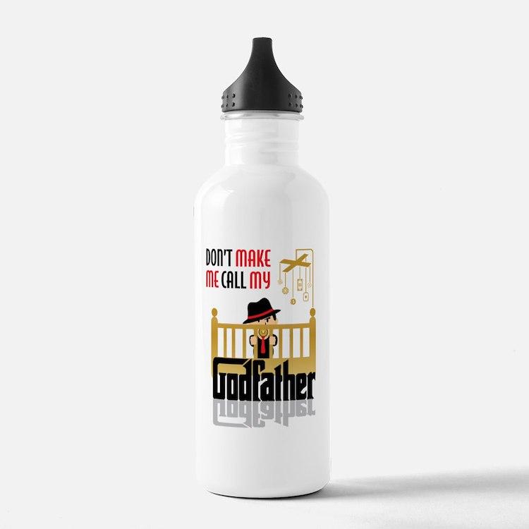 Cute Godfather Water Bottle