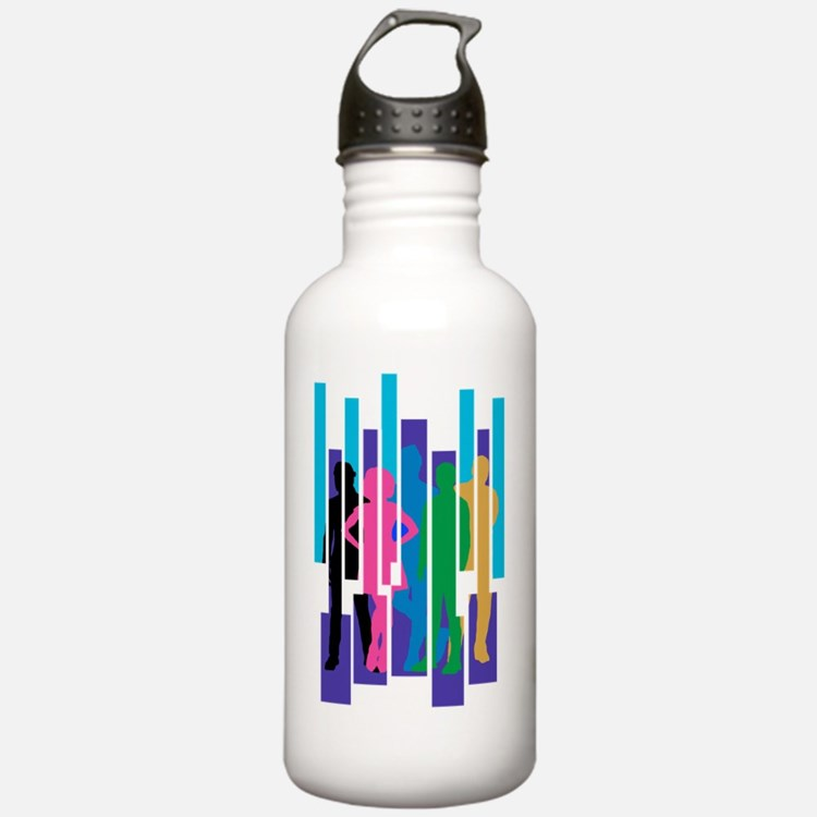 Cute Graphic Sports Water Bottle