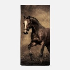 Beautiful Brown Horse Beach Towel