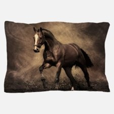 Beautiful Brown Horse Pillow Case