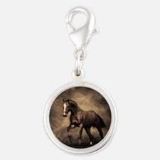 Beautiful Brown Horse Charms
