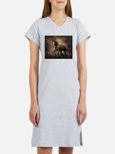 Beautiful Brown Horse Women's Nightshirt