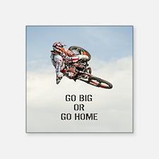 Motocross Rider Sticker