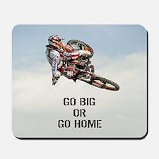 Motocross Rider Mousepad