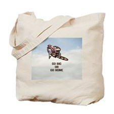 Motocross Rider Tote Bag