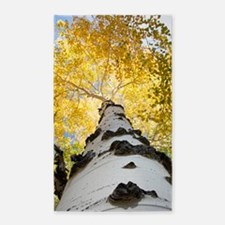 Unique Black trees Area Rug