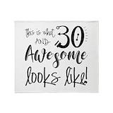 30th Fleece Blankets