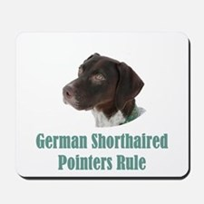 German Shorthaired Pointers Rule Mousepad