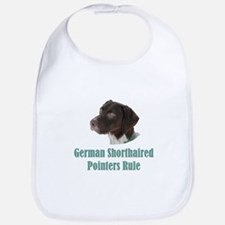 German Shorthaired Pointers Rule Bib