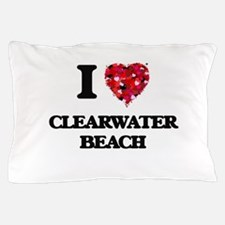 I love Clearwater Beach Florida Pillow Case